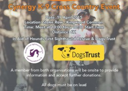 Cynergy K-9 Cross Country Event